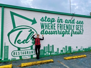 Ted's Restaurant in Birmingham, Alabama, shop local